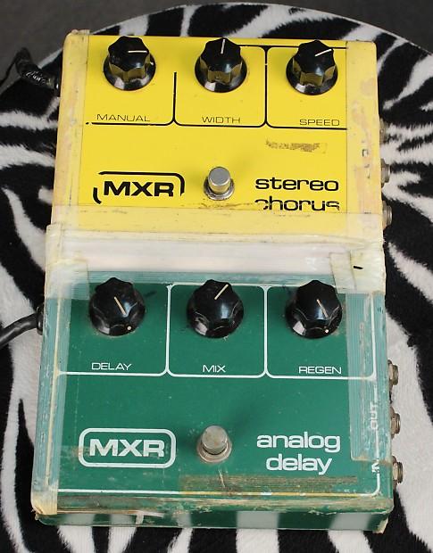 Vintage Mxr Analog Delay 13