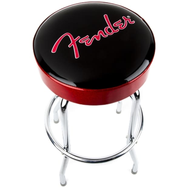 Fender 30quot Swiveling Bar Stool BlackRed Reverb : ozd0yedokyoyziespurh from reverb.com size 620 x 620 jpeg 19kB