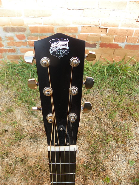 recording king rm 991 tricone resonator guitar with roundneck reverb. Black Bedroom Furniture Sets. Home Design Ideas