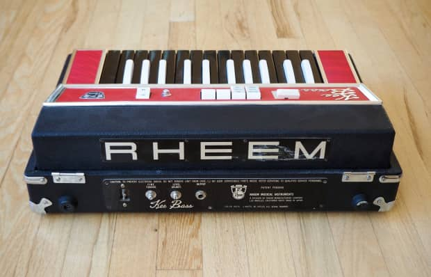 1960s rheem kee bass combo organ vintage keyboard organ for Classic house organ bass