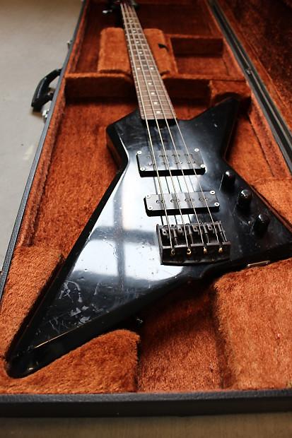 ibanez x series db 700 destroyer bass 1985 black reverb. Black Bedroom Furniture Sets. Home Design Ideas