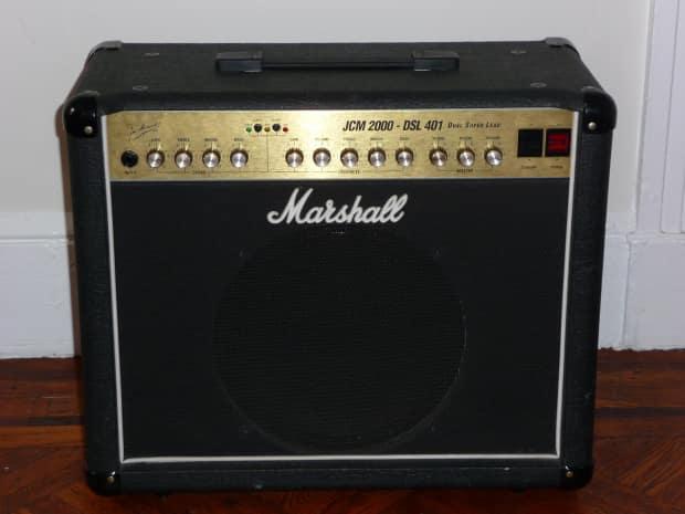 marshall jcm 2000 dsl 401 amplifier reverb. Black Bedroom Furniture Sets. Home Design Ideas