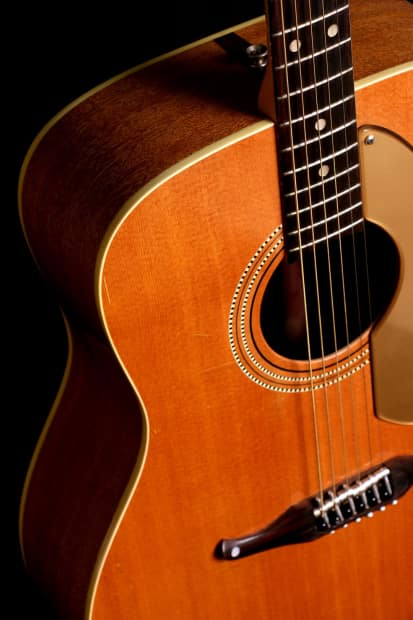 vintage 1960s fender palomino johnny cash acoustic guitar reverb. Black Bedroom Furniture Sets. Home Design Ideas
