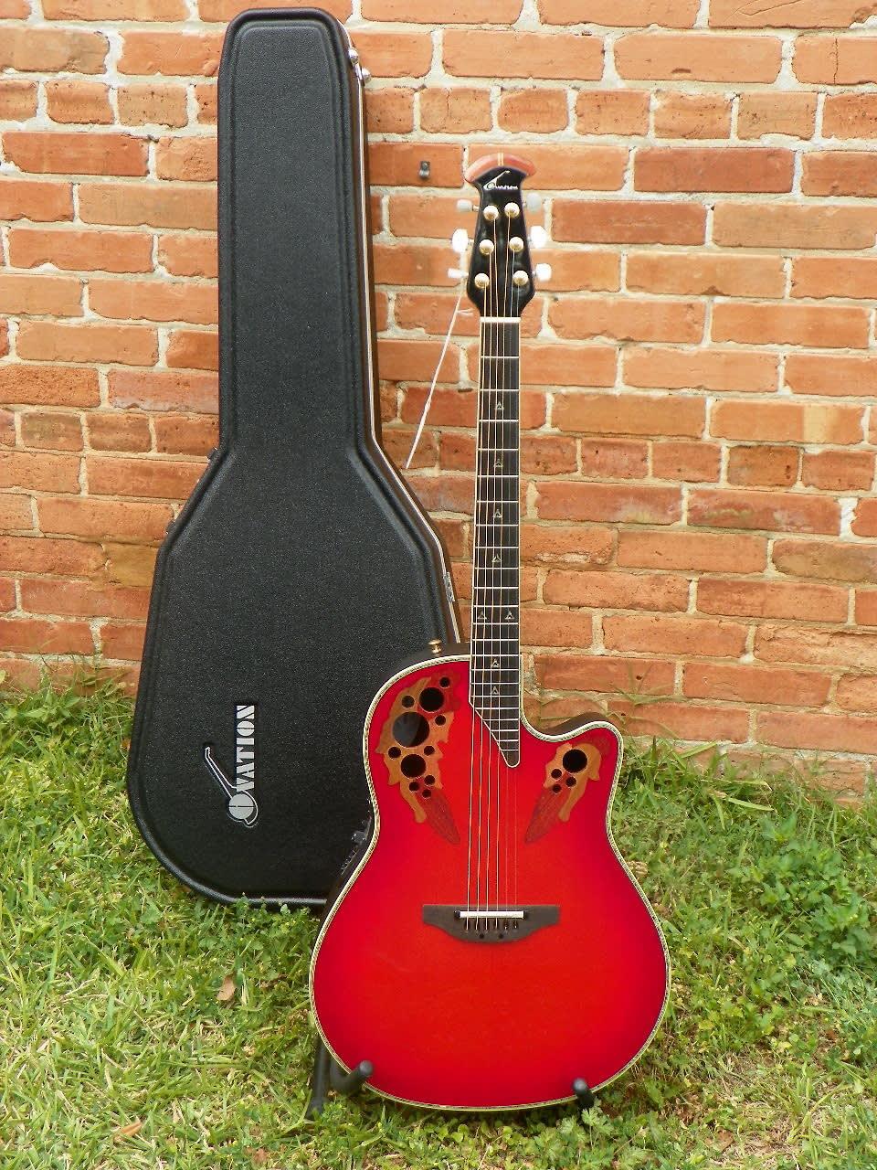 Ovation custom elite 2078 ax deep contour acoustic for Custom elite