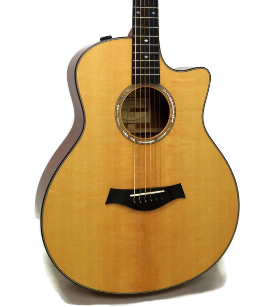 taylor baritone 6 mahogany grand symphony acoustic electric guitar w case reverb. Black Bedroom Furniture Sets. Home Design Ideas