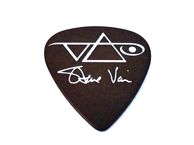 ibanez guitar picks steve vai signature brown heavy 6 reverb. Black Bedroom Furniture Sets. Home Design Ideas