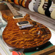 Paul Reed Smith Pauls Guitar 2013 Yellow Tiger Artist Package Quilt Top