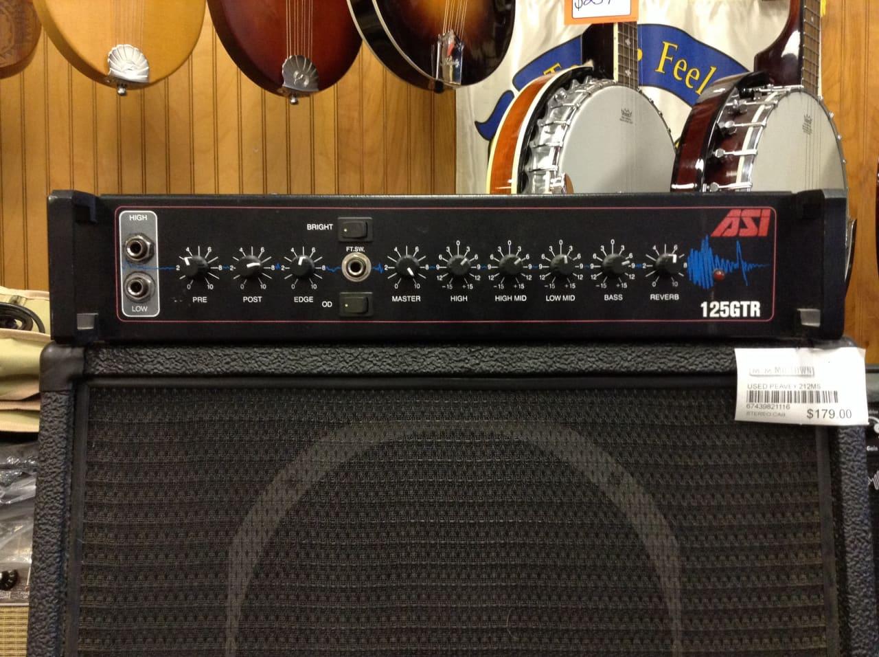 asi 125 watt rack mount guitar amp head reverb. Black Bedroom Furniture Sets. Home Design Ideas