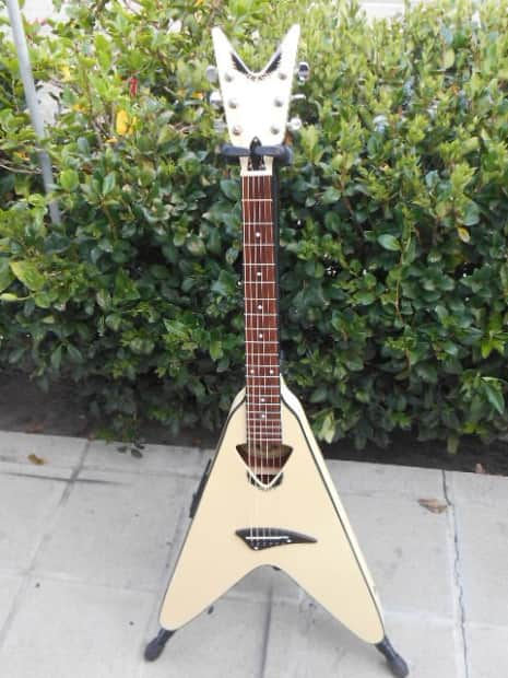 Dean Vco Cwh Flying V Acoustic Electric Guitar Rare Reverb