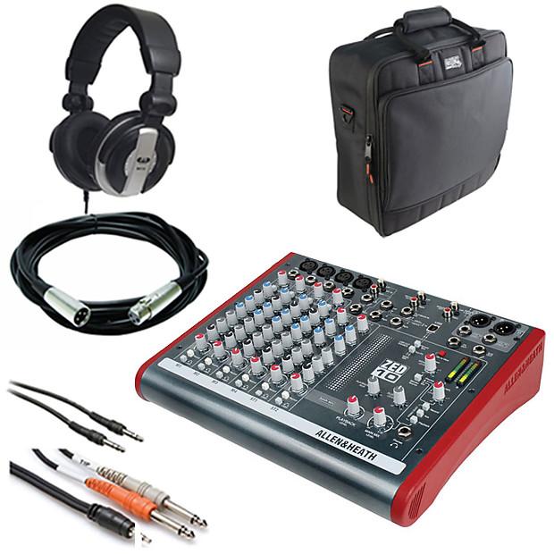 Allen & Heath ZED-10 Multi-Purpose Miniature Mixer + Case ...