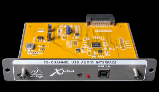 used behringer x usb 2 0 audio interface expansion card for reverb. Black Bedroom Furniture Sets. Home Design Ideas