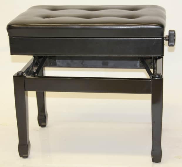 Jansen Standard Artist J 850 Piano Bench Ebony Black