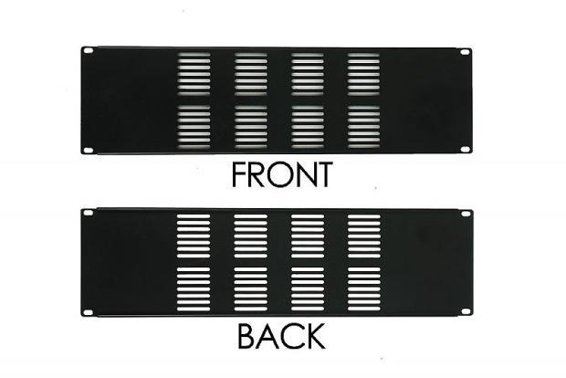 Osp 3 space 19 3u vented rack case blank filler panel for 1009 fifth avenue floor plan
