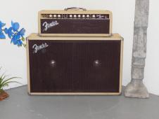 Fender Bandmaster Vintage 1962 Blonde Tolex IMMACULATE! Celeb Owned! All Originl image