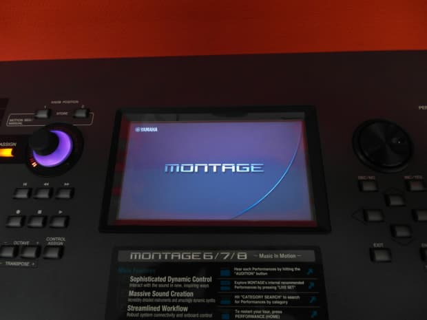 Yamaha montage 8 2016 demomodel reverb for Yamaha montage 8 case