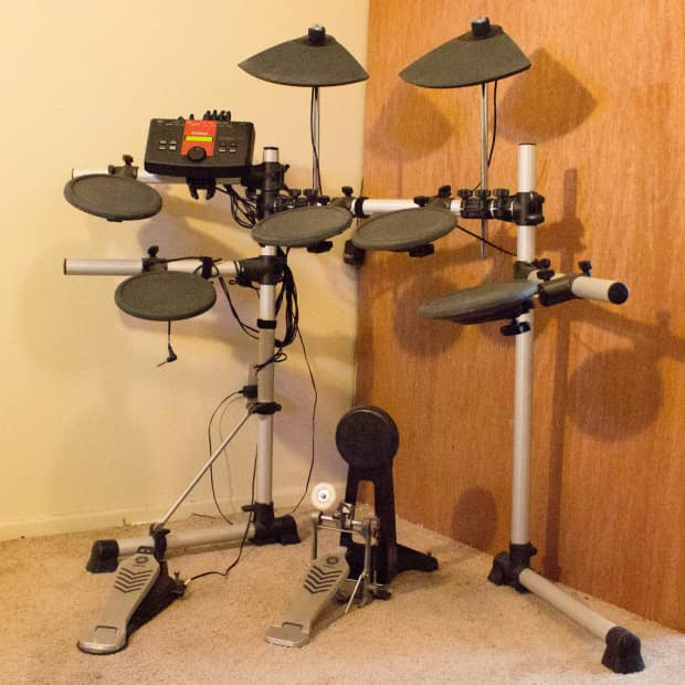 Yamaha dtxplorer electric drum kit reverb for Electric drum set yamaha