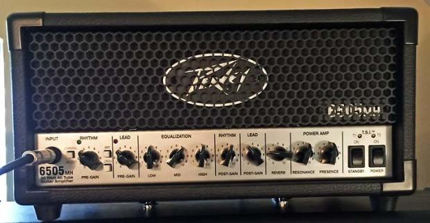 peavey 6505 mh micro 20 watt tube guitar amplifier head reverb. Black Bedroom Furniture Sets. Home Design Ideas