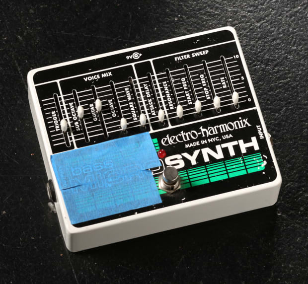 electro harmonix bass micro synth reverb. Black Bedroom Furniture Sets. Home Design Ideas