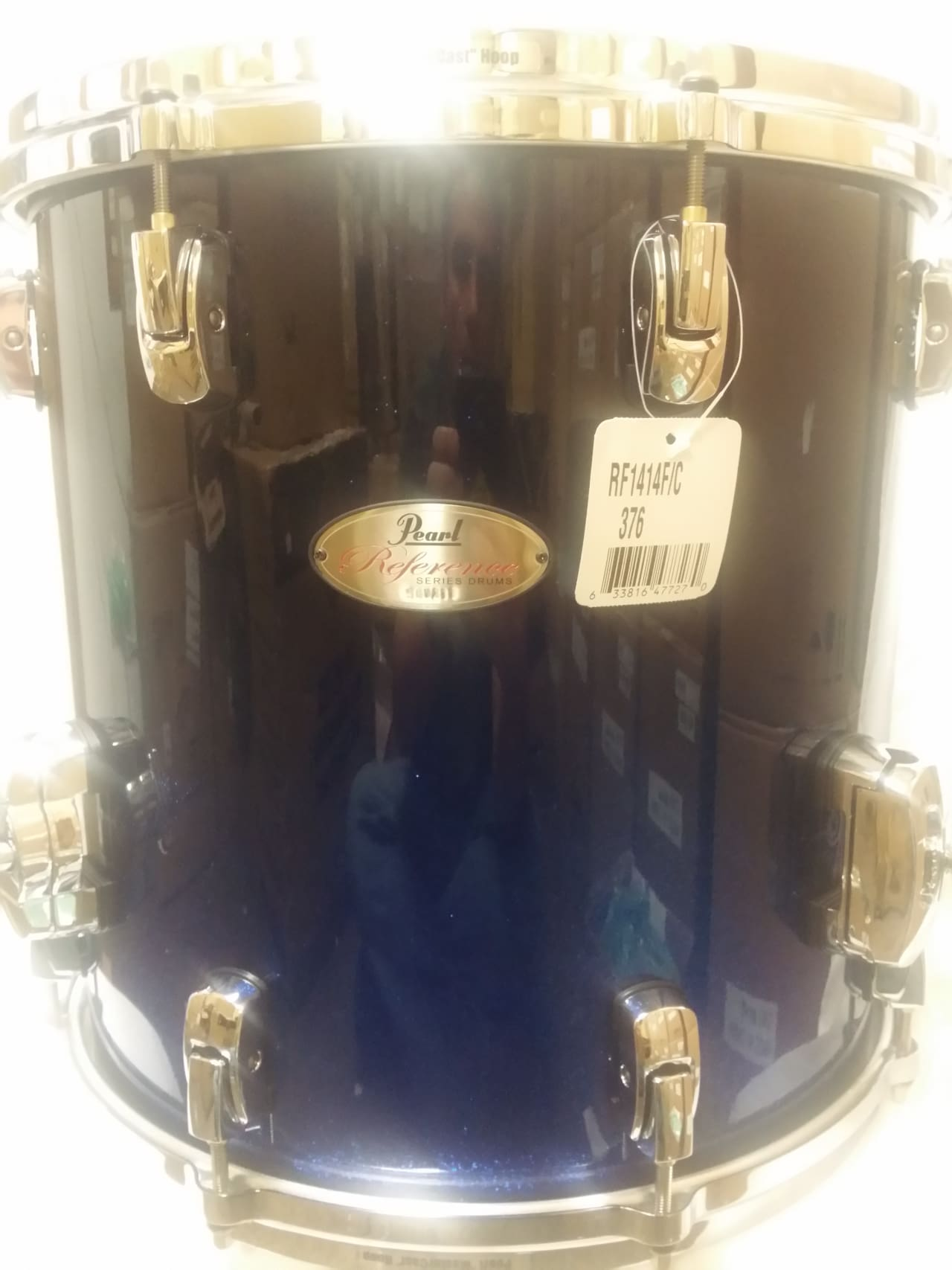 New pearl drums reference ultra blue fade 14x14 floor tom for 14x14 floor tom