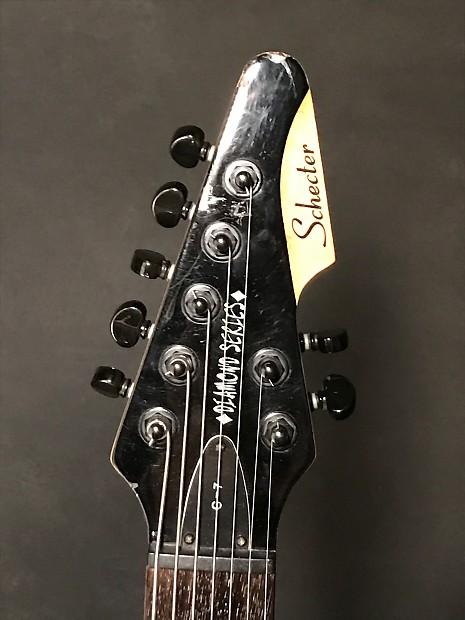 schecter schecter diamond series c 7 guitar 1999 black reverb. Black Bedroom Furniture Sets. Home Design Ideas