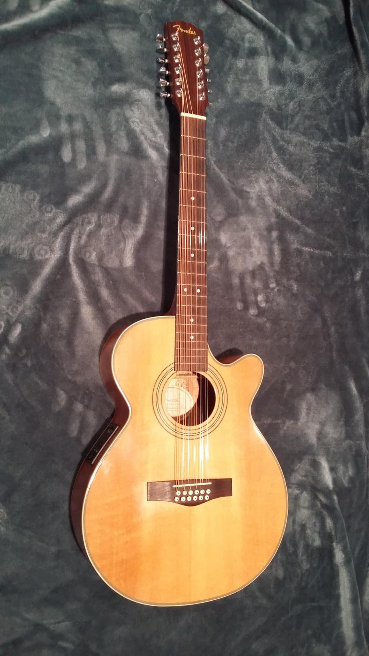 fender jg12ce 12 12 string acoustic electric guitar reverb. Black Bedroom Furniture Sets. Home Design Ideas