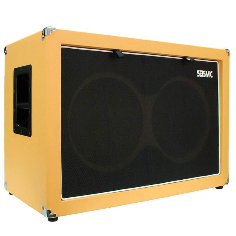 empty guitar speaker cabinet 2x12 cab 212 orange tolex reverb. Black Bedroom Furniture Sets. Home Design Ideas