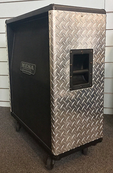 Mesa Boogie Rectifier 4x12 Guitar Amplifier Cabinet Used