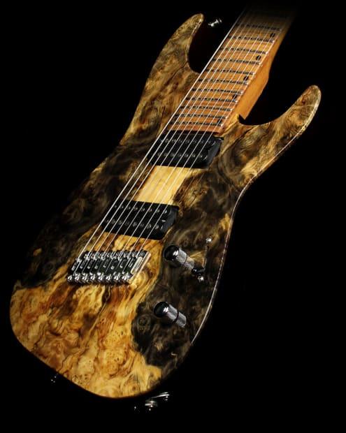 lipe virtuoso 8 string fanned fret electric guitar buckeye reverb. Black Bedroom Furniture Sets. Home Design Ideas
