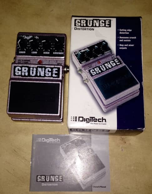 digitech grunge distortion guitar fx effects pedal reverb. Black Bedroom Furniture Sets. Home Design Ideas