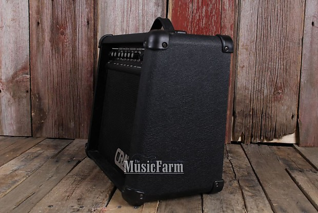 crate gx15r electric guitar amplifier solid state 15 watt 1 x reverb. Black Bedroom Furniture Sets. Home Design Ideas