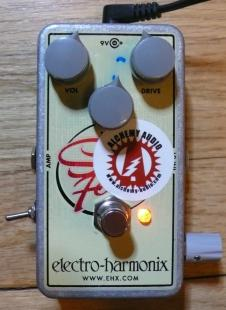 One-Off Electro-Harmonix Soul Food Alchemy Audio Modified Overdrive Guitar Effects Pedal image
