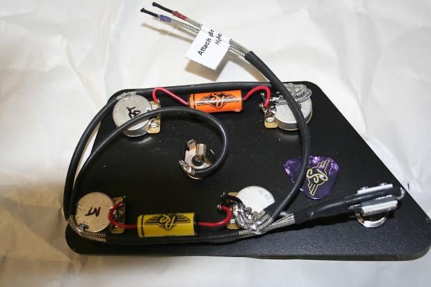 es 335 wiring kit solidfonts gibson es335 vintage 50 39 s prebuilt wiring harness kit reverb