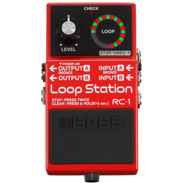 boss rc 1 loop station looper guitar pedal reverb. Black Bedroom Furniture Sets. Home Design Ideas