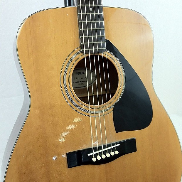 Yamaha Acoustic Guitar Model Fg