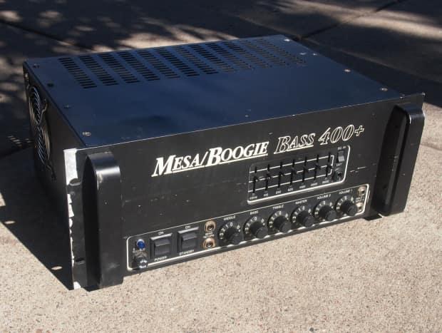 mesa boogie 400 400 plus all tube bass guitar amp head reverb. Black Bedroom Furniture Sets. Home Design Ideas