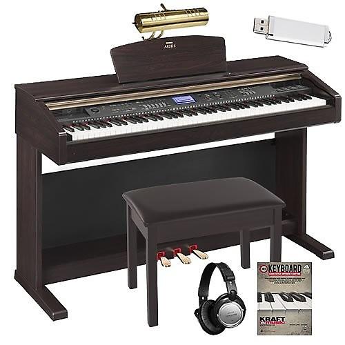 yamaha arius ydp v240 digital piano w bench headphones reverb. Black Bedroom Furniture Sets. Home Design Ideas