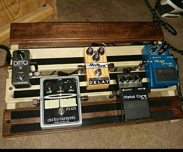 guitar effects pedal board work horse reverb. Black Bedroom Furniture Sets. Home Design Ideas