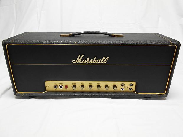 marshall 1976 jmp 1987 mkii 50w tube amp 6550 new filter caps reverb. Black Bedroom Furniture Sets. Home Design Ideas