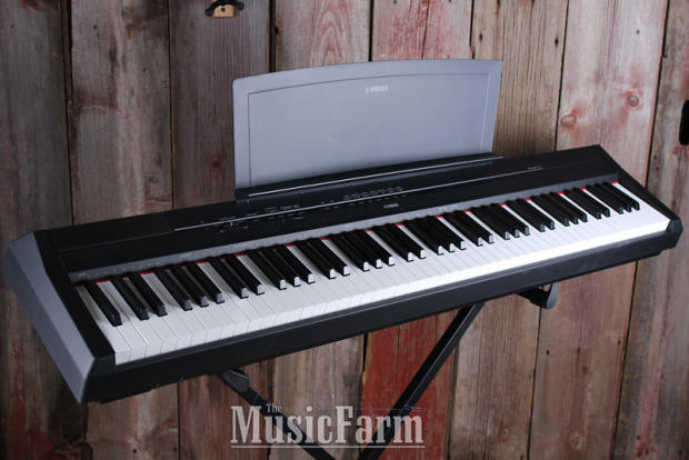 Yamaha p115 88 weighted key digital stage piano p115b with for Yamaha p115 piano