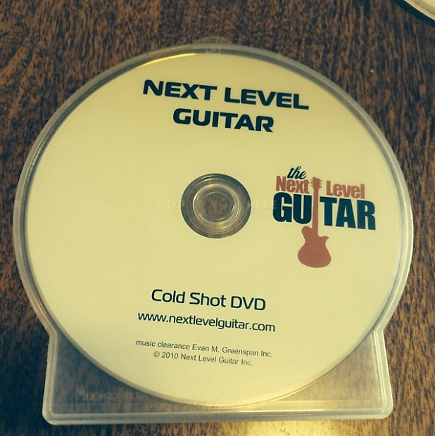next level guitar instructional dvd cold shot srv reverb. Black Bedroom Furniture Sets. Home Design Ideas