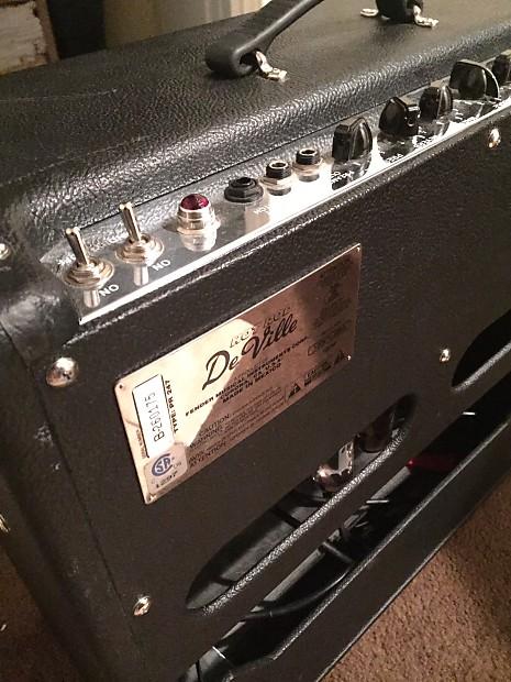 fender hot rod deville 410 60w tube amp reverb. Black Bedroom Furniture Sets. Home Design Ideas