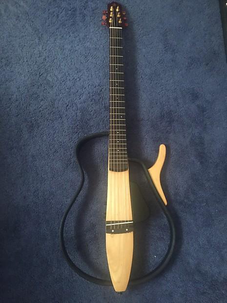 yamaha slg100s silent guitar steel string 2000 39 s natural. Black Bedroom Furniture Sets. Home Design Ideas