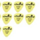 Pack of 10 plectrums .5mm thickness by Chord image