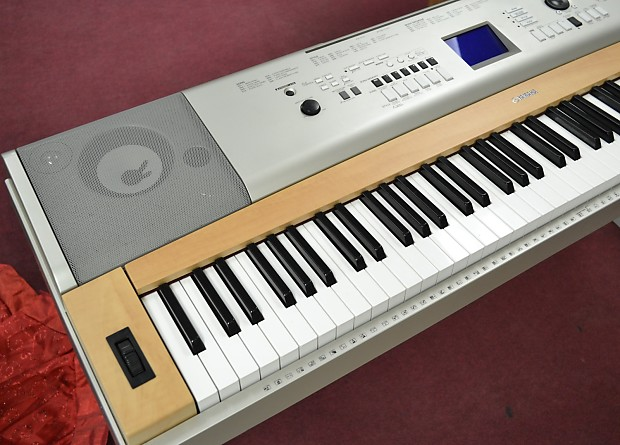 yamaha ypg 635 88 key portable grand piano keyboard with