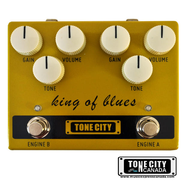 tone city king of blues ov drive klon style tc t30 pedal completely hand made true bypass ships. Black Bedroom Furniture Sets. Home Design Ideas