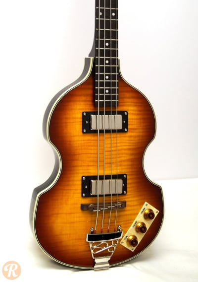 epiphone viola bass mid 39 90s sunburst price guide reverb. Black Bedroom Furniture Sets. Home Design Ideas