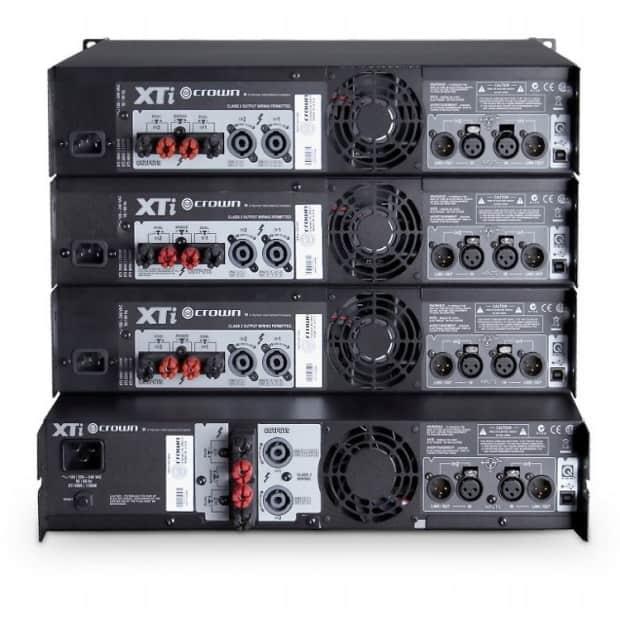 crown xti 6002 rack mount power amplifier reverb. Black Bedroom Furniture Sets. Home Design Ideas