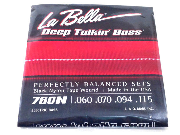 la bella bass strings deep talkin 39 bass black nylon tape wound light reverb. Black Bedroom Furniture Sets. Home Design Ideas