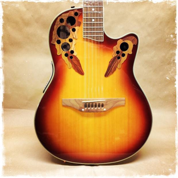 Ovation celebrity acoustic guitar
