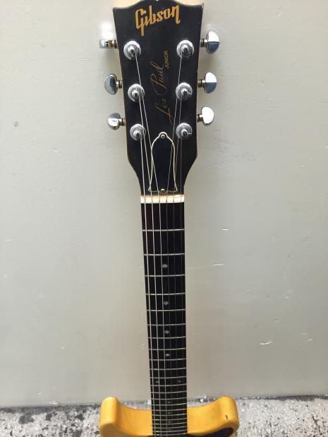 Gibson Les Paul Jr Junior Double Cut Dc 1987 Tv Yellow P90